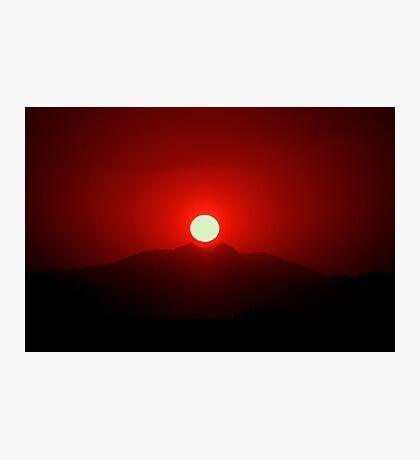 Nesting Sun Photographic Print