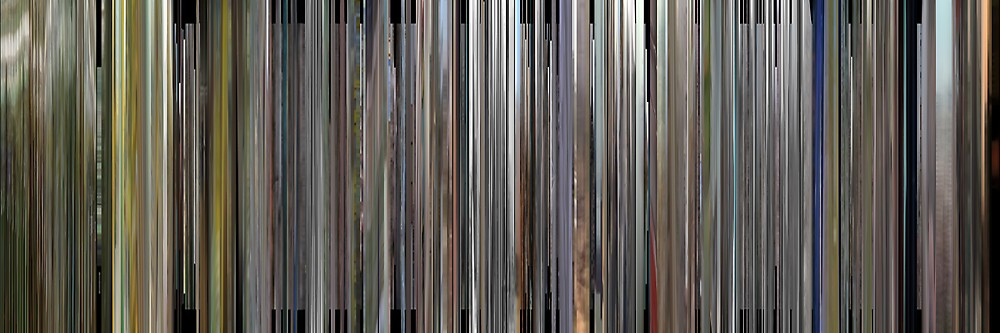 Moviebarcode: Manufactured Landscapes (2006) by moviebarcode