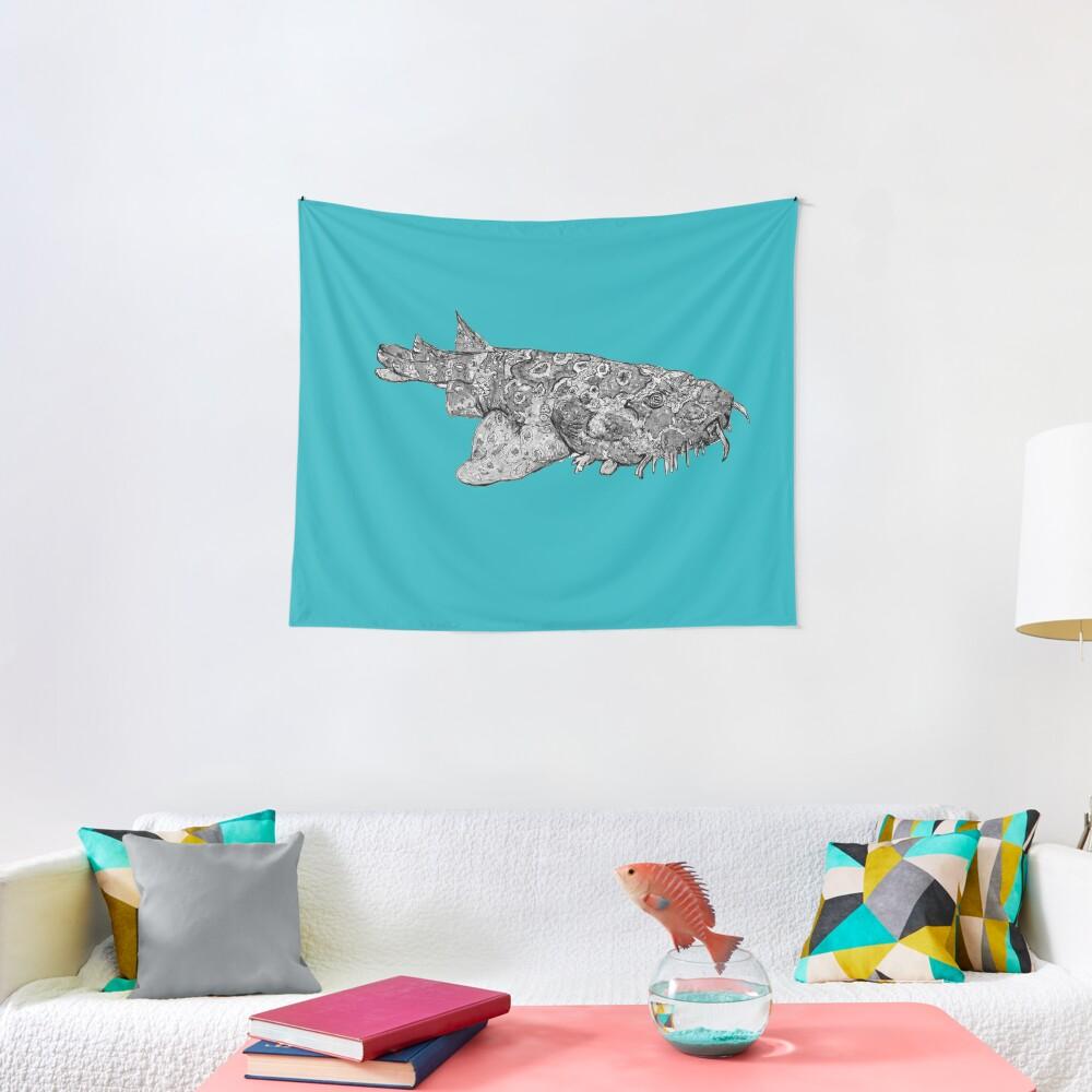 Penelope the Wobbygong Shark Tapestry