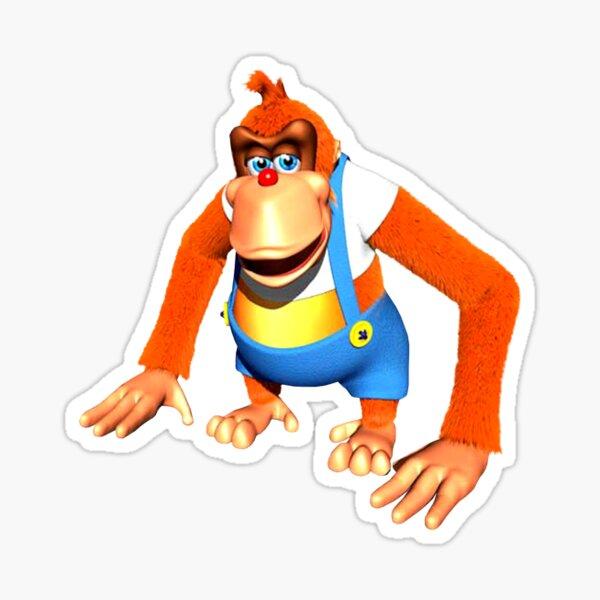 Lanky Kong Sticker