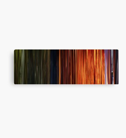 Moviebarcode: Sequence from Toy Story 3 (2010) Canvas Print