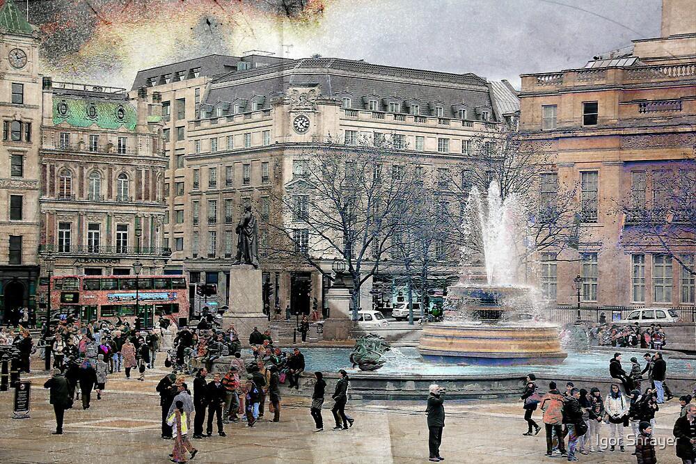 London XI - Trafalgar Square  by Igor Shrayer