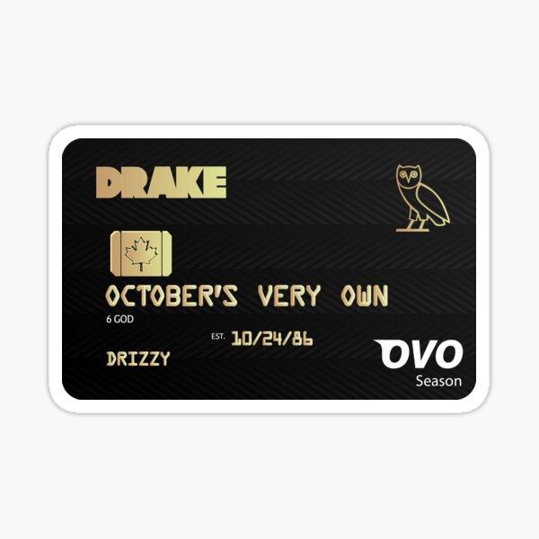 Drake OVO Toosie Slide Design Sticker