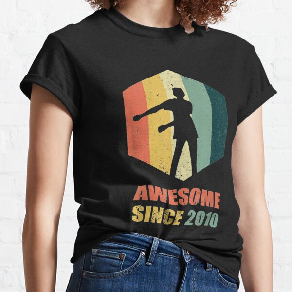 Vintage Floss Dance 9th Gift for 9 Year Old Birthday Classic T-Shirt