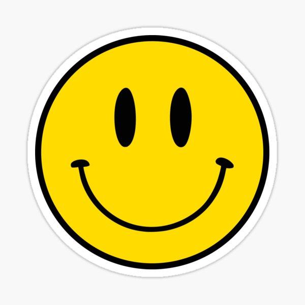 Patrón | Cara feliz | Smiley | Pegatina