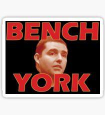 Bench York Sticker