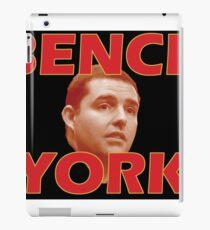 Bench York iPad Case/Skin
