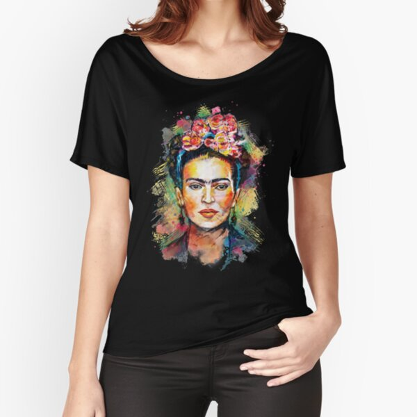 Lover Gifts for Girl Womenn Frida Kahlo T Shirt Target Shirts Relaxed Fit T-Shirt