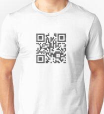 MineSweeper QR Code T-Shirt Unisex T-Shirt