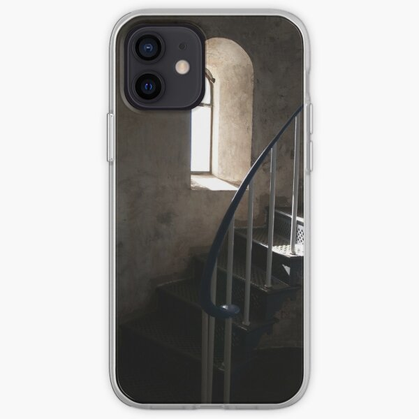 South Solitary Island Lighthouse Stairs iPhone Soft Case