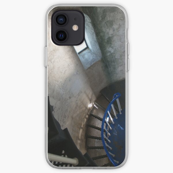 South Solitary Island Lighthouse Spiral Staircase iPhone Soft Case
