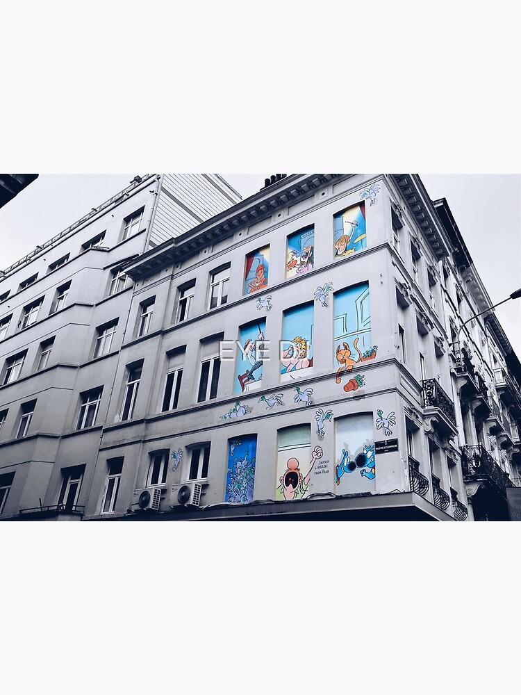 Rue Philippe de Champagne, Bruxelles, Belgium. by iDJPhotography