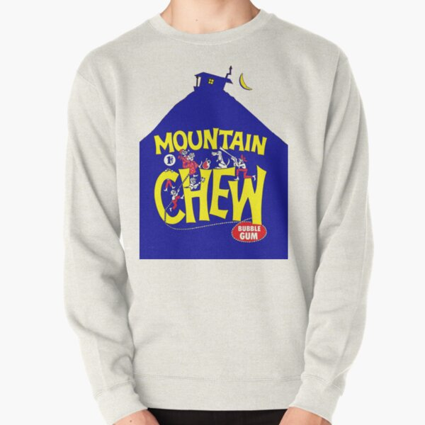 Mountain Chew Bubble Gum Pullover Sweatshirt