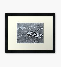 Dropped Call Framed Print