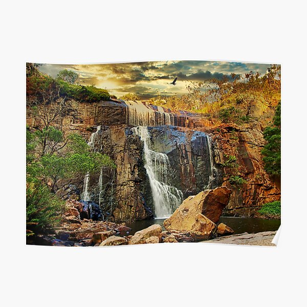 Australian MacKenzie Falls Poster