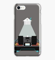 Road to the clock tower iPhone Case/Skin