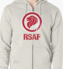 Royal Singapore Air Force Zipped Hoodie