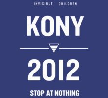 KONY 2012 - Poster Design v5 [HQ] [Also in Black!]