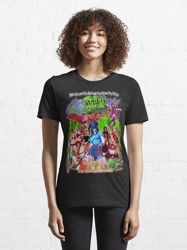 Alternate view of Vlad The Inhaler: Vlads Undead Angels Song Colorful Variant Essential T-Shirt
