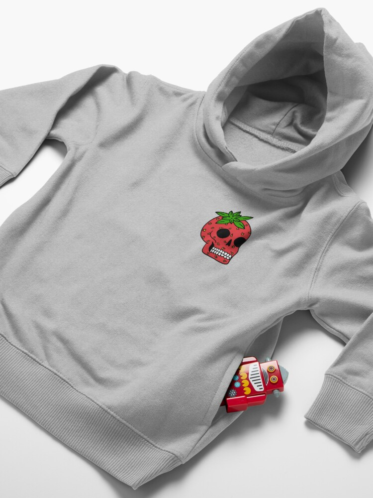 Alternate view of Death of a Strawberry Toddler Pullover Hoodie