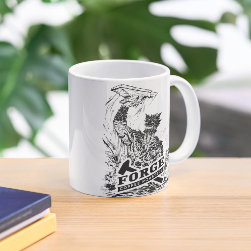 Forge Coffee® Slag Monster Logo Swag Mug