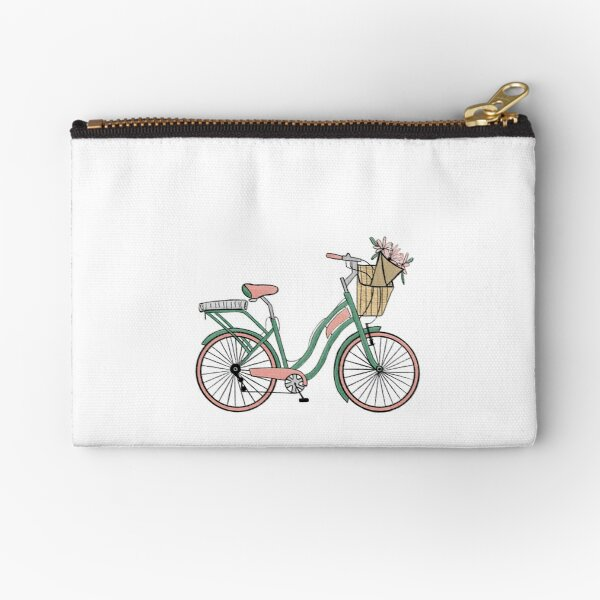Bike life Zipper Pouch