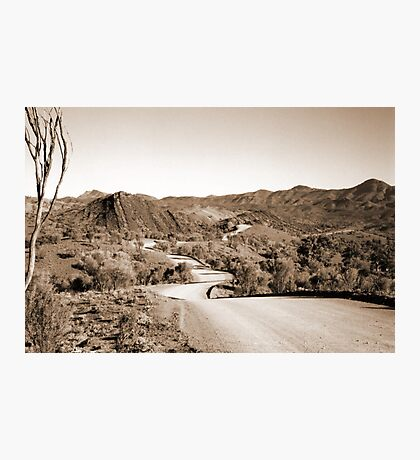 The Long and Winding Road Photographic Print
