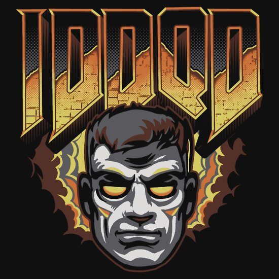 TShirtGifter presents: IDDQD - GOD MODE