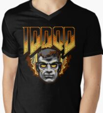 IDDQD - GOD MODE Men's V-Neck T-Shirt