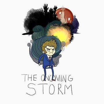 10th Doctor: the Oncoming Storm by ShrlckShvrnshke