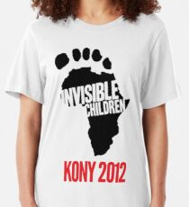 Invisible Children tee Slim Fit T-Shirt