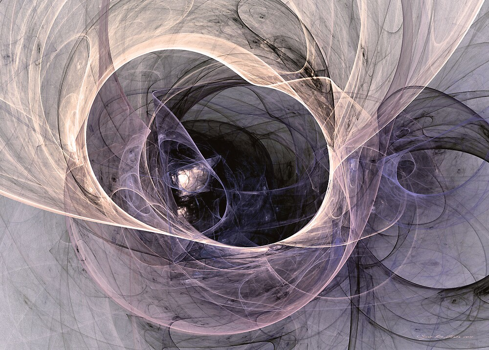 On the way home by Fractal artist Sipo Liimatainen