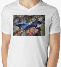 Fast Water Mens V-Neck T-Shirt