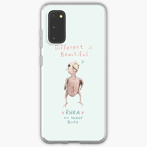 Rhea - Different is Beautiful Samsung Galaxy Soft Case