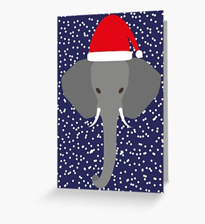 NDVH Christmas Elephant Greeting Card