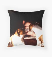Buster and Sweetie soo in love Throw Pillow