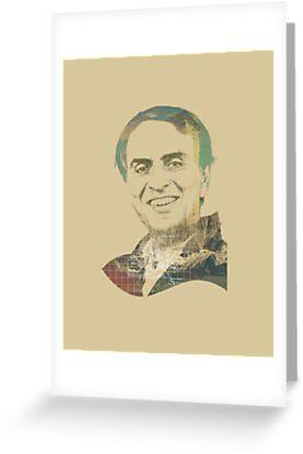 Carl Sagan by Mostafa Kamel