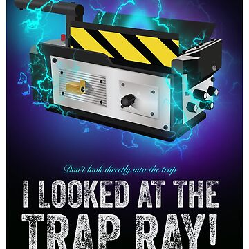 Ghostbusters - Trap - Cinema Obscura Collection by gbloomdesign