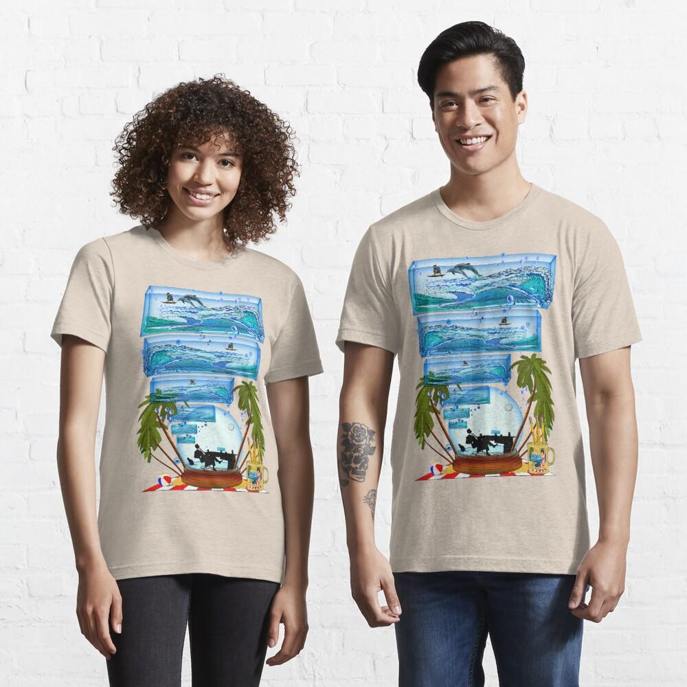 DESKTOP PARADISE Essential T-Shirt