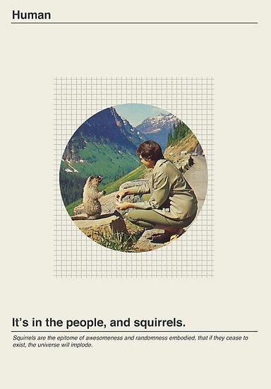 Human / Squirrel. by Mustapha Kamel