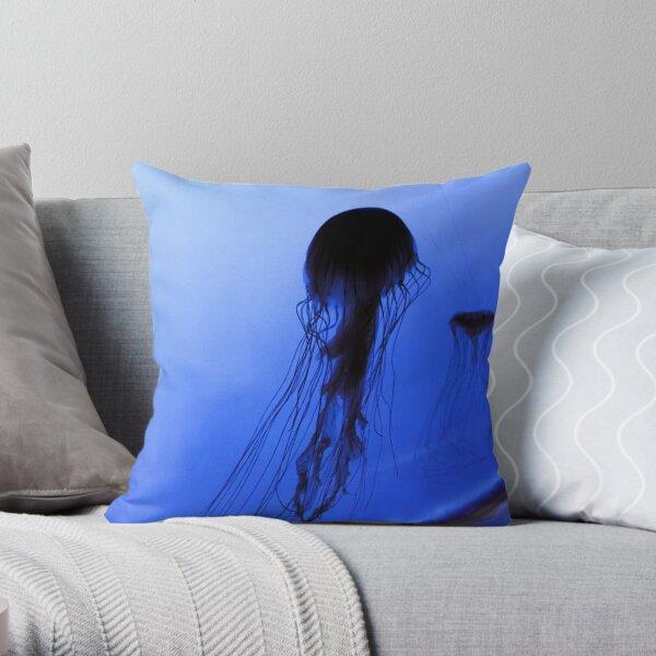 Jelly Silhouette 002 Throw Pillow