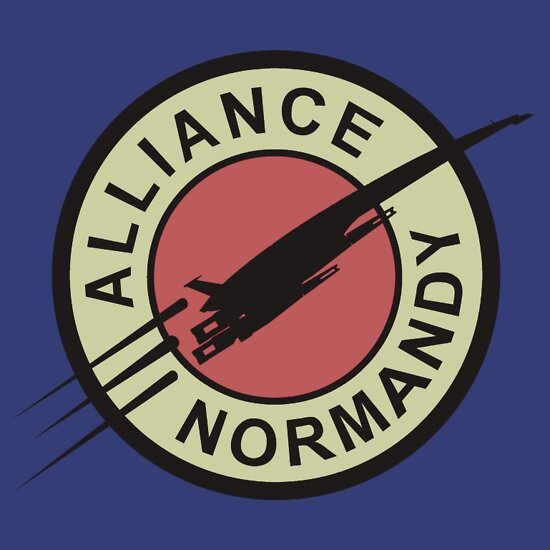 TShirtGifter presents: Alliance Normandy