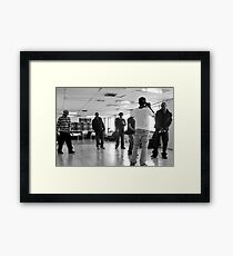 TF Video Shoot Session Framed Print