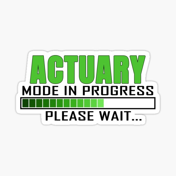 Actuary Stickers | Redbubble