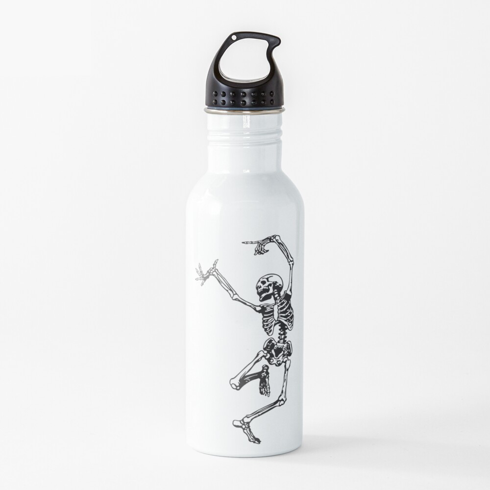Dance With Death Water Bottle