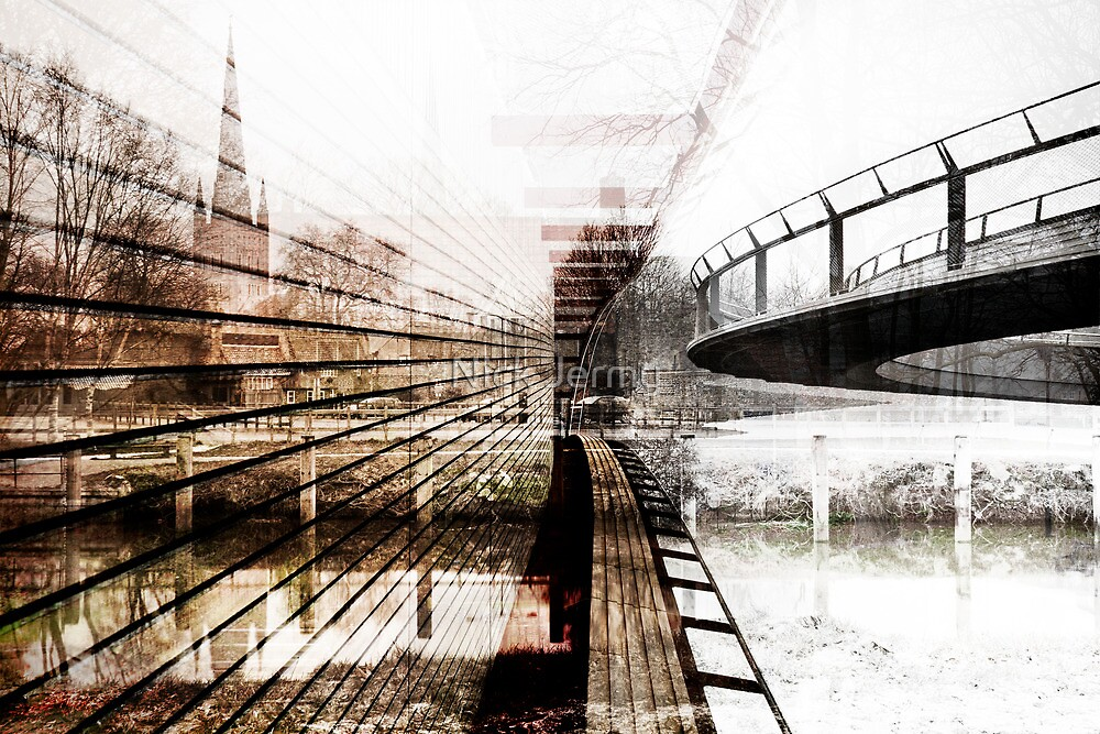Abstract of Norwich by Nick Jermy