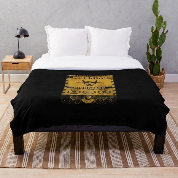 UNIT - BIOHAZARD  Throw Blanket