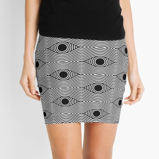 Eye Of The Storm Mini Skirt