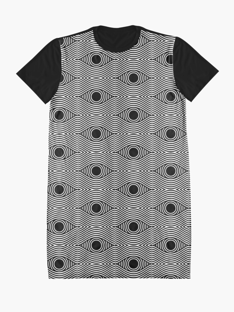 Alternate view of Eye Of The Storm Graphic T-Shirt Dress