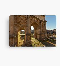 Ancient Rome Ruins Canvas Print